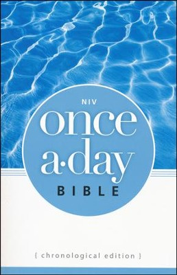 NIV Once-A-Day Bible: Chronological Edition - Slightly Imperfect  -
