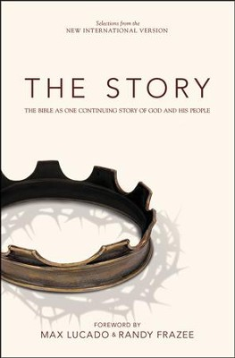 The Story, NIV: The Bible As One Continuous Story of God and His People. Hardcover  -