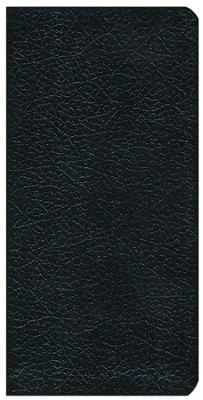 King James Version Trimline Bible, Black  -