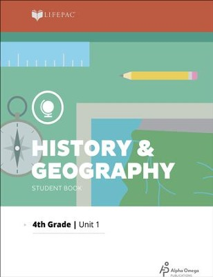 Lifepac History & Geography Grade 4 Unit 1: Our Earth   -