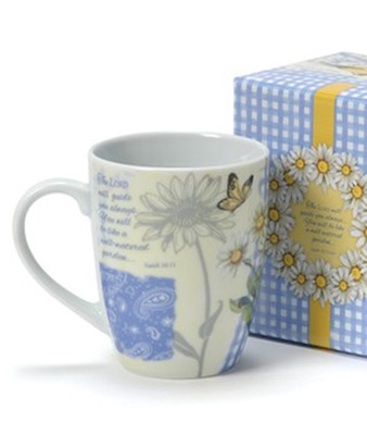 Daisy Garden, Mug With Gift Box  -     By: Sandy Clough