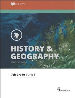Lifepac History & Geography Grade 7 Unit 3: History and Geography of Our States  -