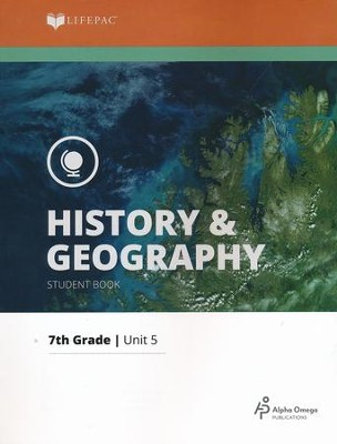 Lifepac History & Geography Grade 7 Unit 5: Sociology   -