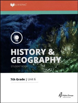 Lifepac History & Geography Grade 7 Unit 6: U.S. Anthropology   -