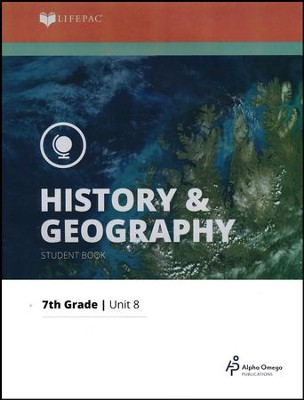 Lifepac History & Geography Grade 7 Unit 8: Political Science   -