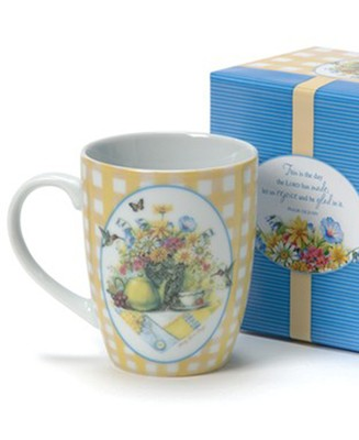 Wildflower Tea, Mug With Gift Box  -     By: Sandy Clough