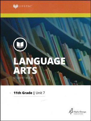 Lifepac Language Arts Grade 11 Unit 7: American Drama   -