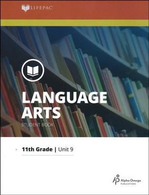 Lifepac Language Arts Grade 11 Unit 9: Research and Composition   -