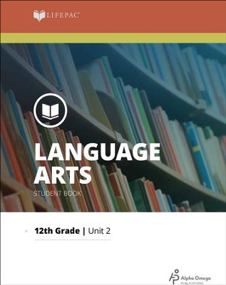 Lifepac Language Arts Grade 12 Unit 2: The Structure of Language   -