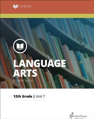 Lifepac Language Arts Grade 12 Unit 7: 17th & 18th-Century English Literature  -