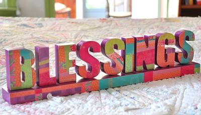 Blessings, Tabletop Decoration  -