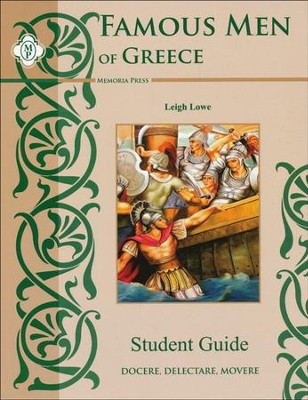 Famous Men of Greece Student Guide   -     By: John H. Haaren, Addison B. Poland
