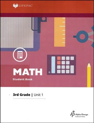 Lifepac Math Grade 3 Unit 1   -