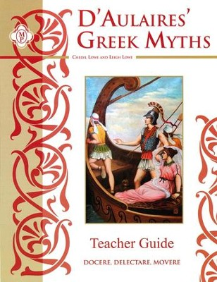 D'Aulaires Greek Myths Teacher's Guide   -     By: Leigh, Cheryl Lowe
