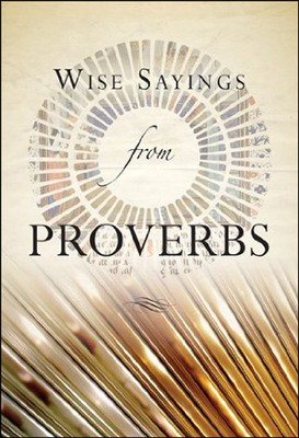 Wise Sayings from Proverbs   -