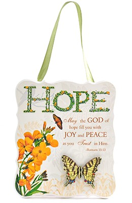 Hope Plaque, Romans 15:13   -