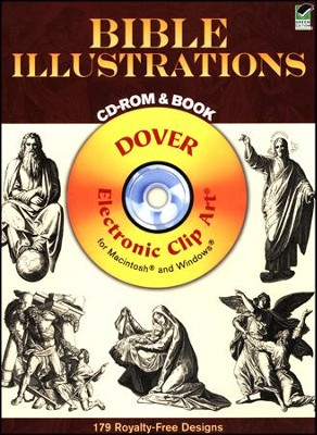 Bible Illustrations Book and CDROM  -