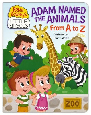 Adam Named the Animals: From A to Z   -     By: Diane Stortz     Illustrated By: Lisa Reed, Kelly Pulley