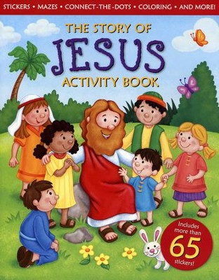 The Story of Jesus Activity Book  -     By: Michelle Medlock Adams
