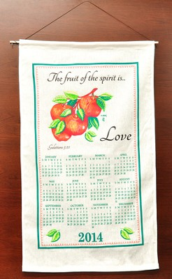 The Fruit Of The Spirit Is Love, 2014 Linen Calendar   -