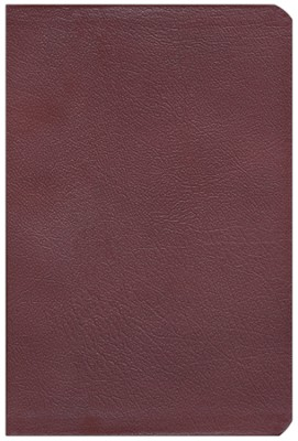 The NASB New Inductive Study Bible, Genuine Leather, Burgundy  -     By: Precept Ministries International