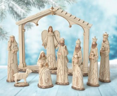 Woodland Nature Nativity Collection   -