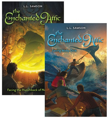 The Enchanted Attic Series, Volumes 1 & 2  -
