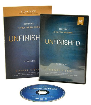 Unfinished: Believing Is Only the Beginning DVD Based  Study, Participant's Guide & DVD  -     By: Richard Stearns