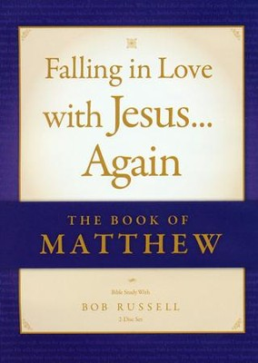 The Book of Matthew Vol. I (Matthew 1-4) DVD, Falling in Love with Jesus...Again 4  -     By: Bob Russell