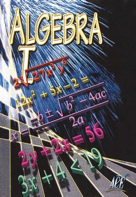 Algebra I Vol. 3, DVD   -