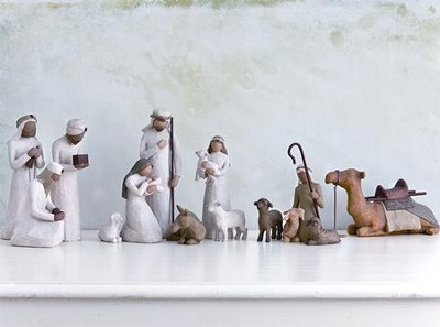 Willow Tree &#174 Nativity Starter Set, 14 pieces   -     By: Susan Lordi