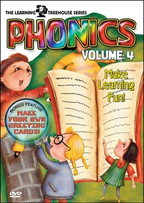 The Learning Treehouse: Phonics Volume 4   -