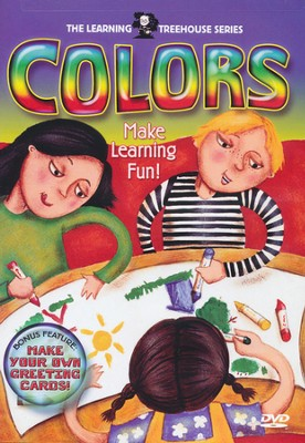 Learning Treehouse: Colors, DVD   -
