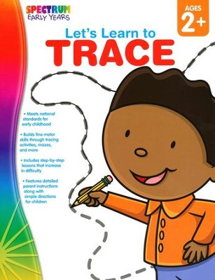 Spectrum Early Years Let's Learn to Trace  -