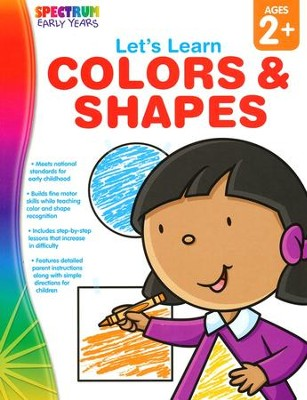 Spectrum Early Years Let's Learn Colors & Shapes  -