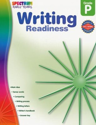Spectrum Early Years Writing Readiness  -