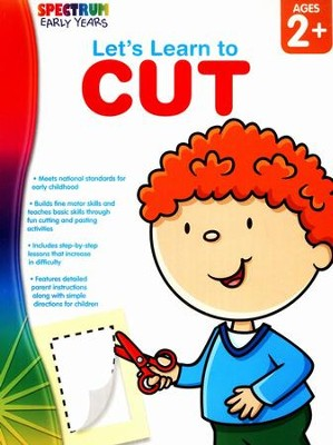 Spectrum Early Years Let's Learn to Cut  -