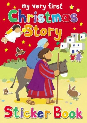 My Very First Christmas Story Sticker Book  -     By: Lois Rock