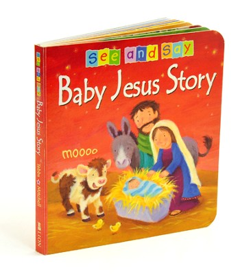 Baby Jesus Story  -     By: Christina Goodings     Illustrated By: Melanie Mitchell