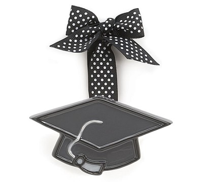 Graduation Cap Ornament, Small   -