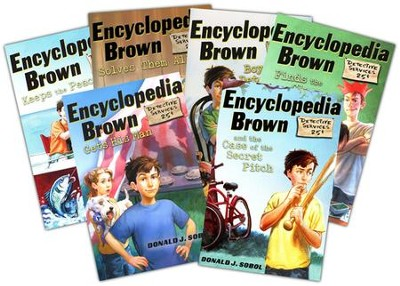 Encyclopedia Brown Starter Set, 6 Volumes   -     By: Donald J. Sobol