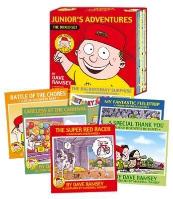 Junior's Adventures, 6 Kids Books Boxed Set   -     By: Dave Ramsey