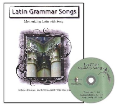 Latin Grammar Songs--Book and CD   -