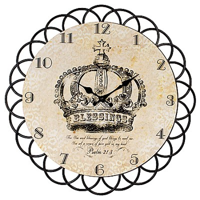 Blessings Clock, Psalm 21:3  -