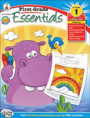 First-Grade Essentials Grade 1   -