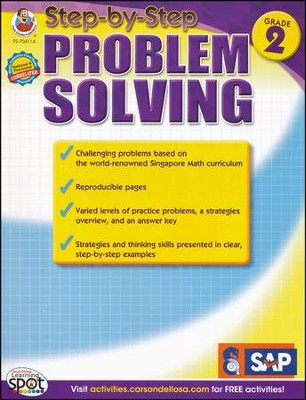 Step-by-Step Problem Solving Level 1, Grade 2   -