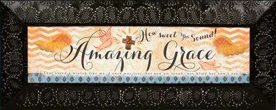 Amazing Grace Plaque  -