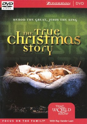 The True Christmas Story video download with free  Christmas Carol download  [Video Download] -     By: Ray Vander Laan