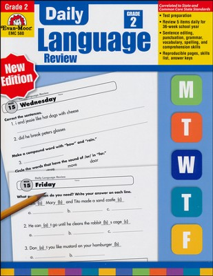 Daily Language Review Grade 2   -     By: Jo Ellen Moore