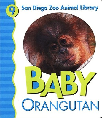 San Diego Zoo Animal Library #9: Baby Orangutan, Board Book   -     By: Julie Shively